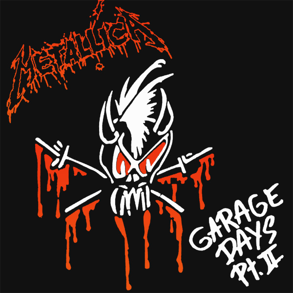 Original Cover Artwork of Metallica Garage Days