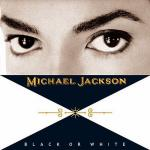 Original Cover Artwork of Michael Jackson Black Or White