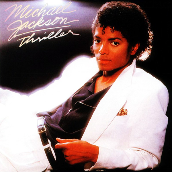 Original Cover Artwork of Michael Jackson Thriller