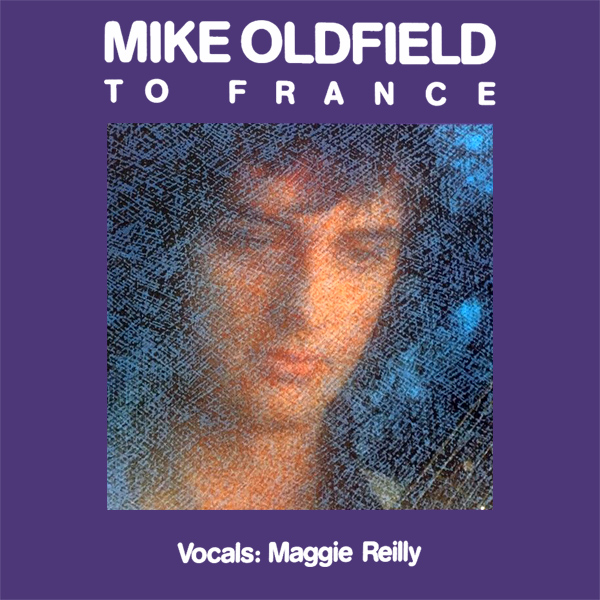 Original Cover Artwork of Mike Oldfield To France