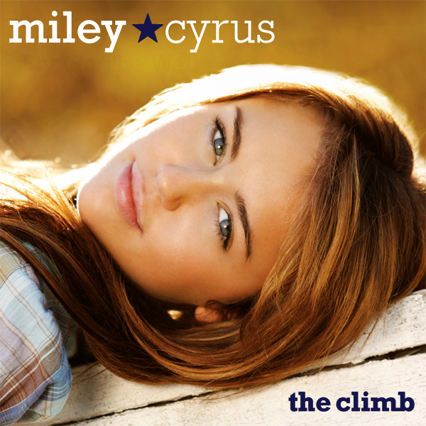 Original Cover Artwork of Miley Cyrus The Climb