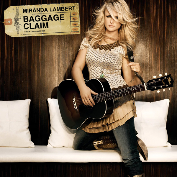 Original Cover Artwork of Miranda Lambert Baggage Claim