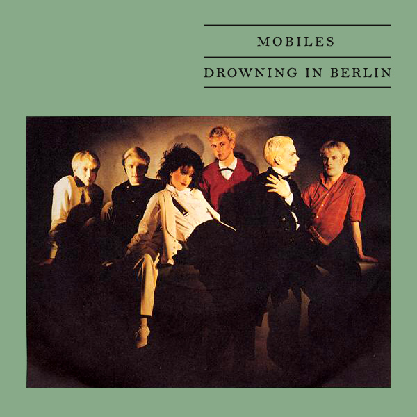 Original Cover Artwork of Mobiles Drowning In Berlin