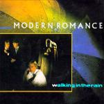 Original Cover Artwork of Modern Romance Walking In The Rain