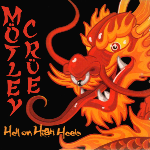 Original Cover Artwork of Motley Crue Hell On High Heels