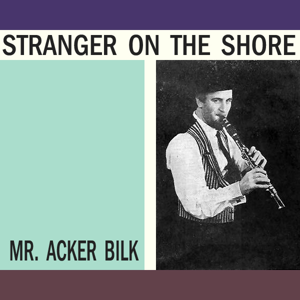 Original Cover Artwork of Mr Acker Bilk Stranger