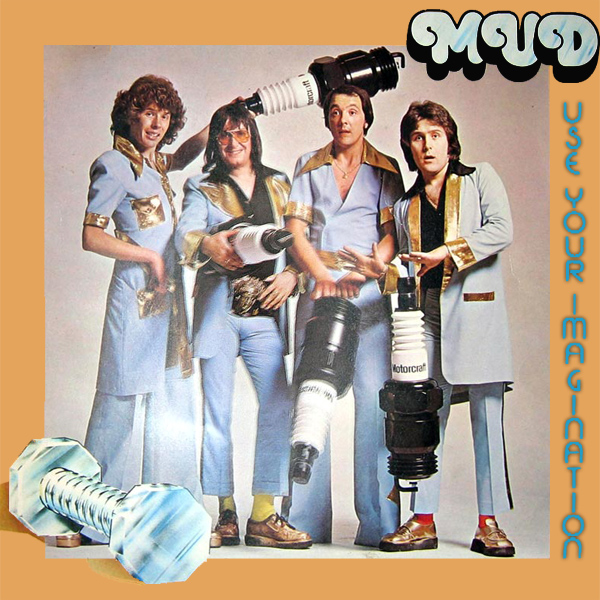 Original Cover Artwork of Mud Use Your Imagination