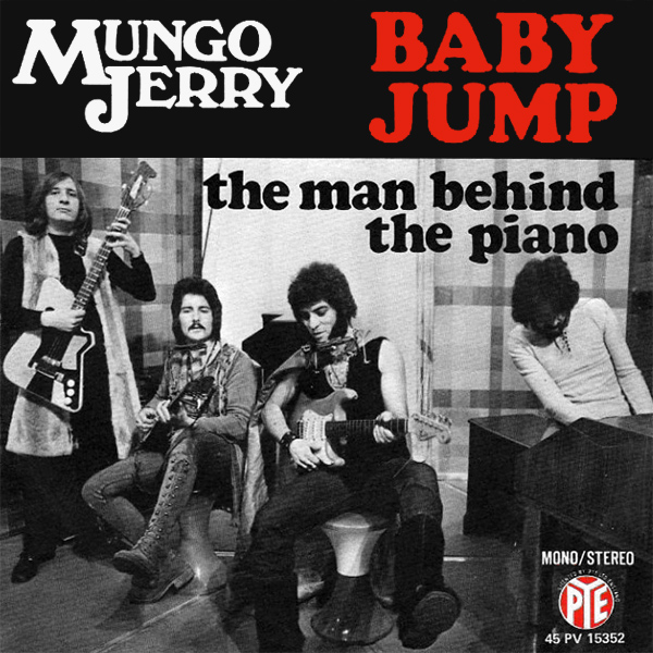 Original Cover Artwork of Mungo Jerry Baby Jump