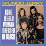 Original Cover Artwork of Mungo Jerry Long Legged Woman Dressed In Black