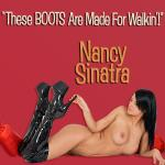 Original Cover Artwork of Nancy Sinatra These Boots R