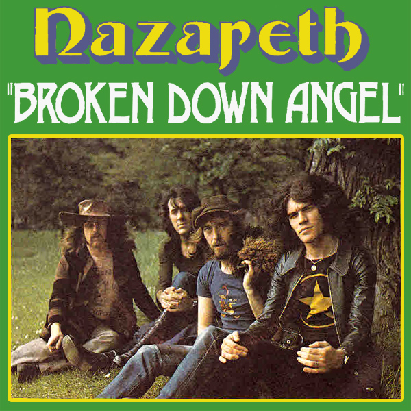 Original Cover Artwork of Nazareth Broken Down Angel