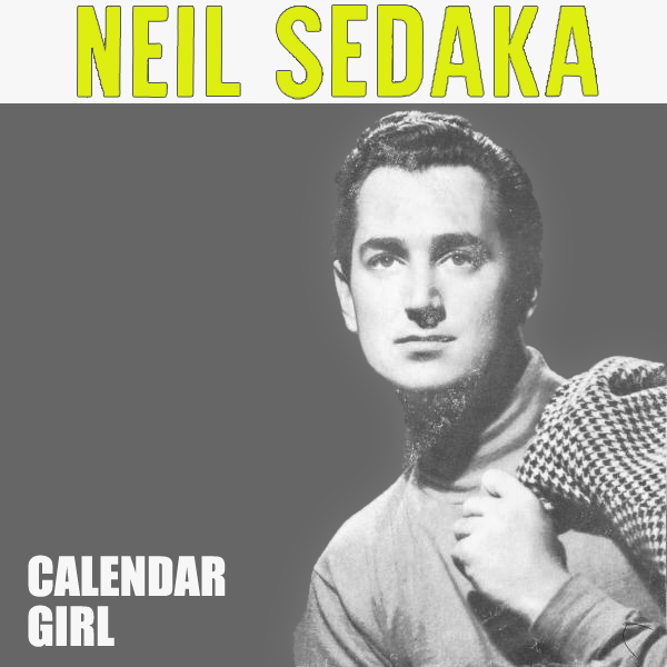 Original Cover Artwork of Neil Sedaka Calendar Girl