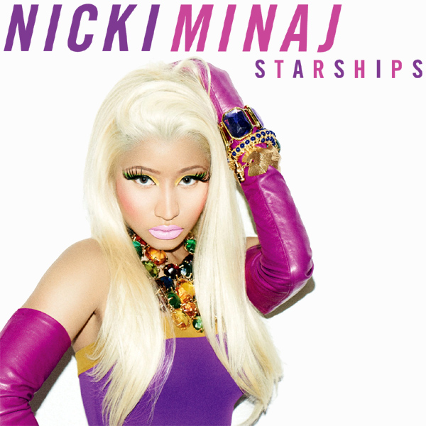 Original Cover Artwork of Nicki Minaj Starships