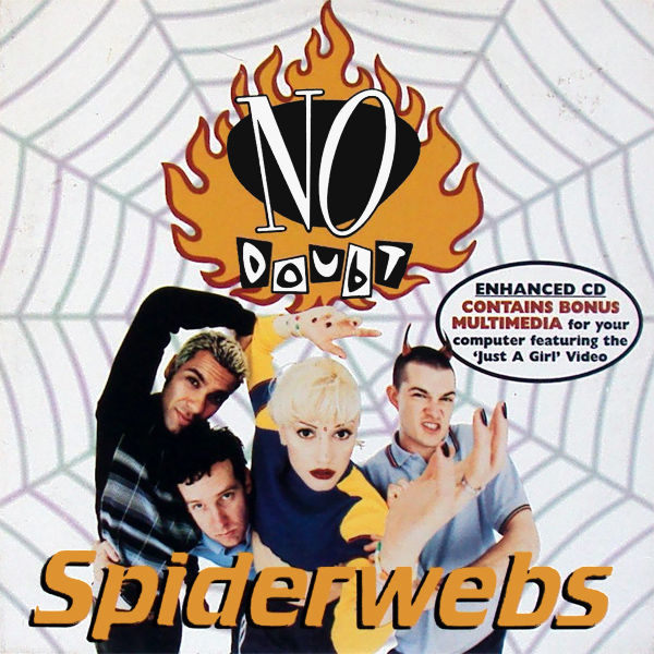 Original Cover Artwork of No Doubt Spiderwebs