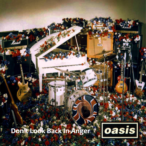 Original Cover Artwork of Oasis Back In Anger
