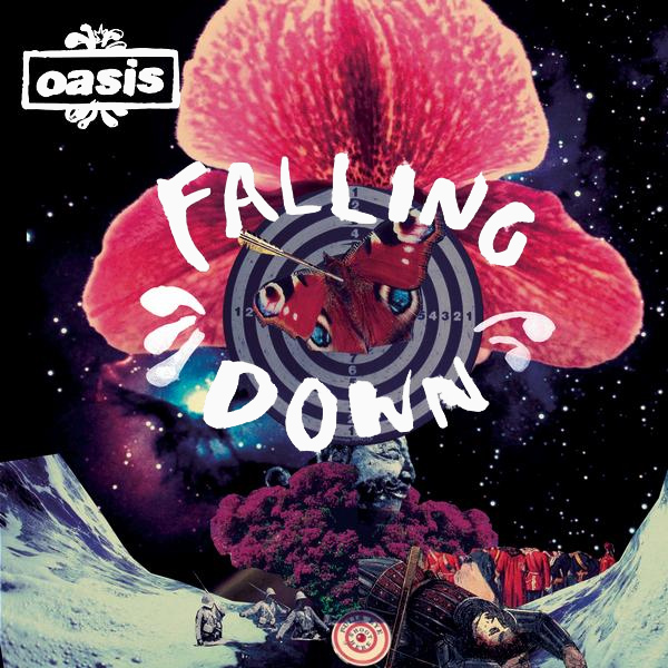 Original Cover Artwork of Oasis Falling Down