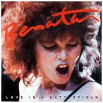 Original Cover Artwork of Pat Benetar Love Is A