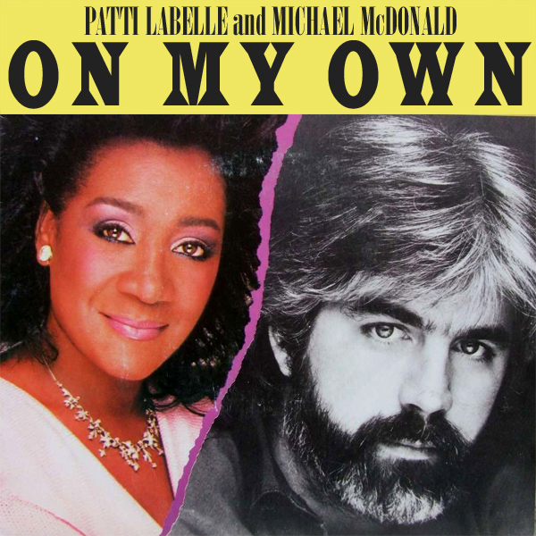 Original Cover Artwork of Patti Labelle Michael Mcdonald On My Own