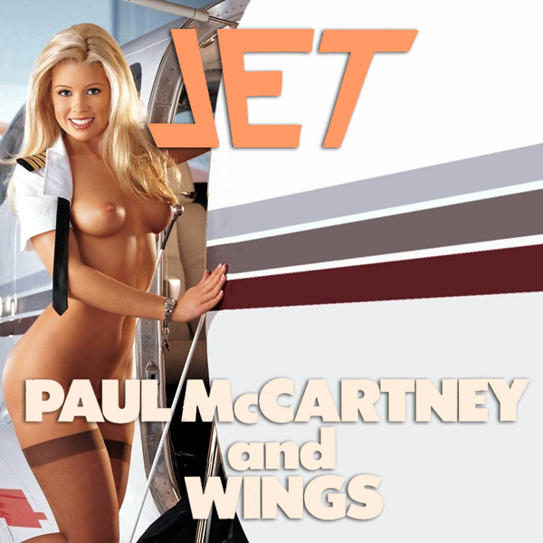 Cover Artwork Remix of Paul Mccartney And Wings Jet