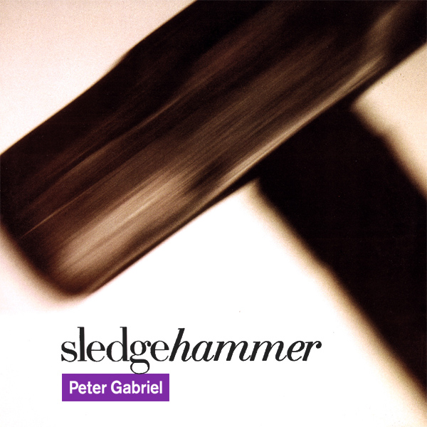 Original Cover Artwork of Peter Gabriel Sledgehammer