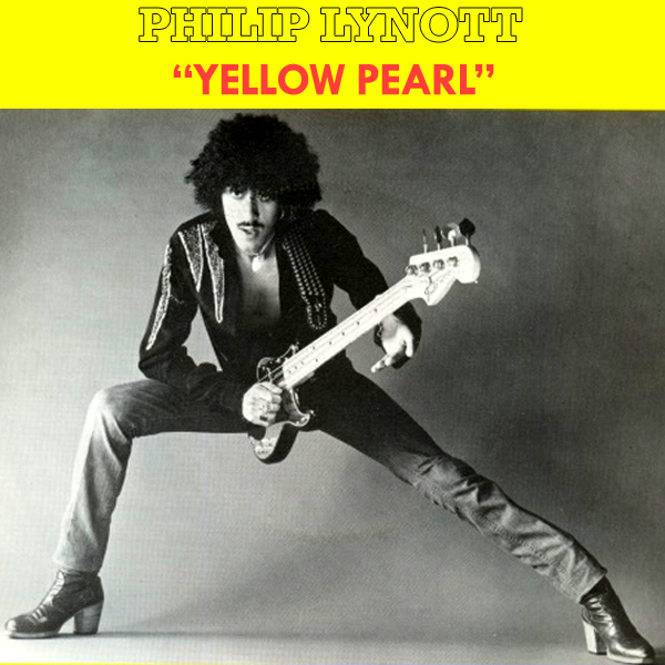 Original Cover Artwork of Philip Lynott Yellow Pearl