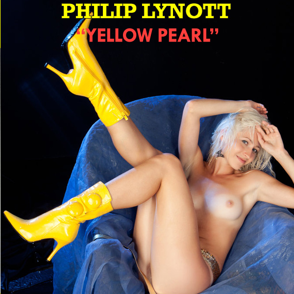 Cover Artwork Remix of Philip Lynott Yellow Pearl