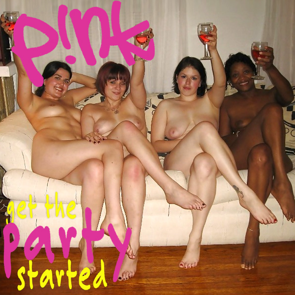 Cover Artwork Remix of Pink Get The Party Started