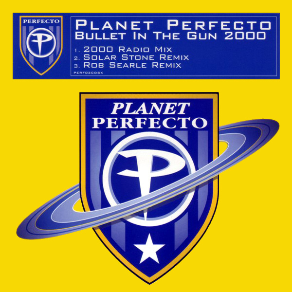 Original Cover Artwork of Planet Perfecto Bullet Gun