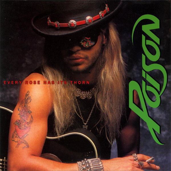 Original Cover Artwork of Poison Every Rose Has Its Thorn