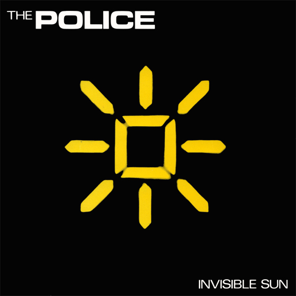 Original Cover Artwork of Police Invisible Sun