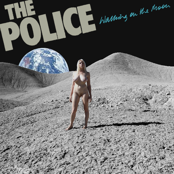 police walking on the moon remix
