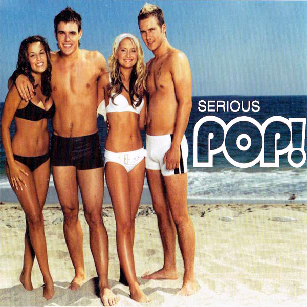 Original Cover Artwork of Pop Serious