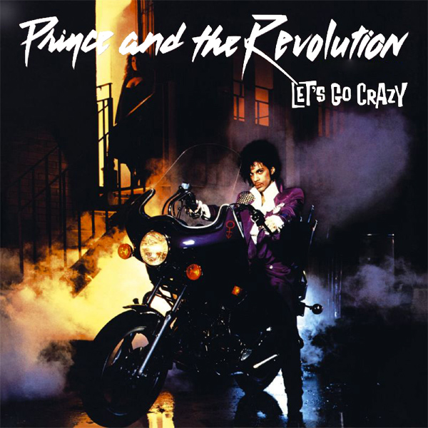 Original Cover Artwork of Prince Lets Go Crazy