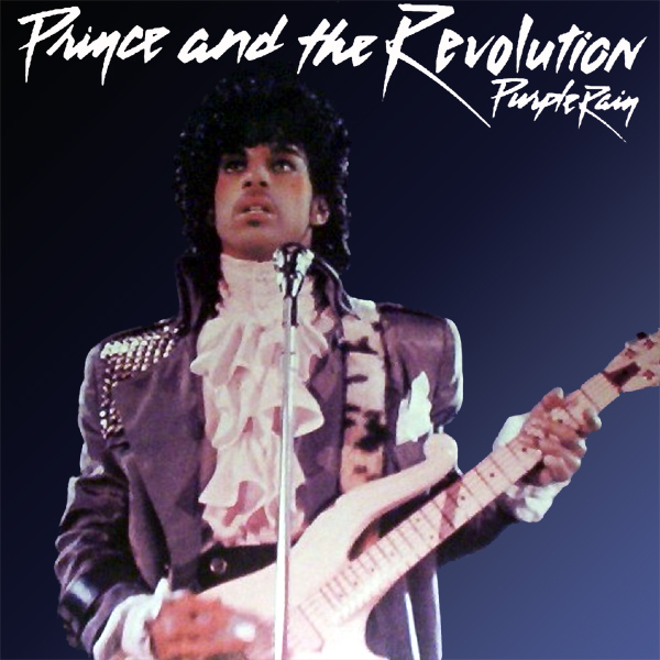 Original Cover Artwork of Prince Purple Rain