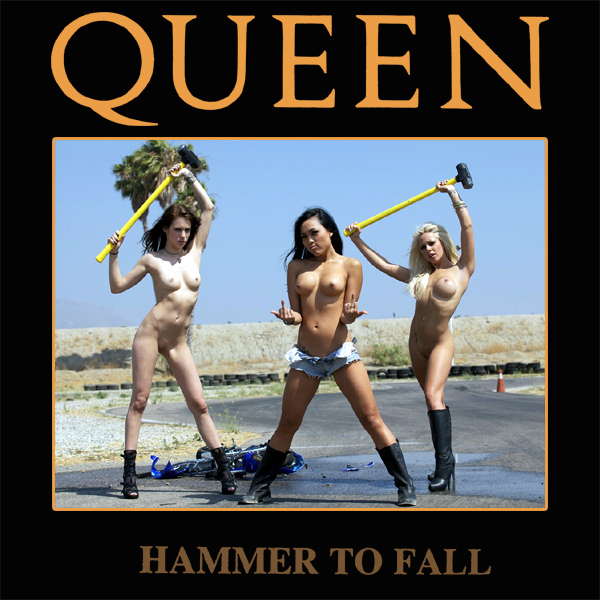queen hammer to fall remix