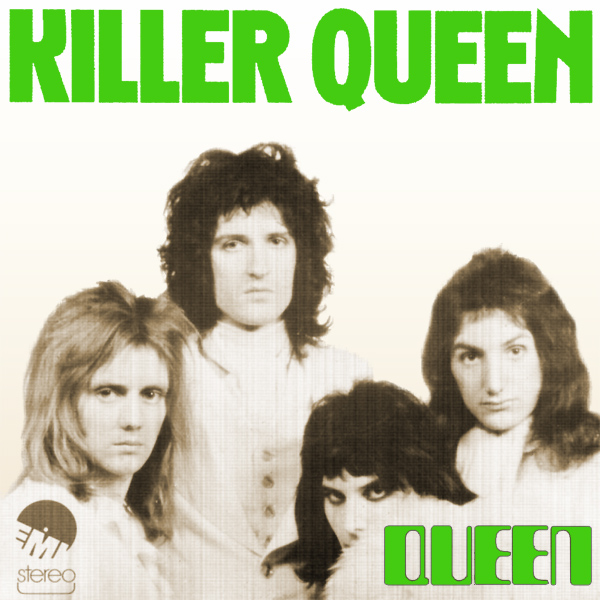Original Cover Artwork of Queen Killer Queen