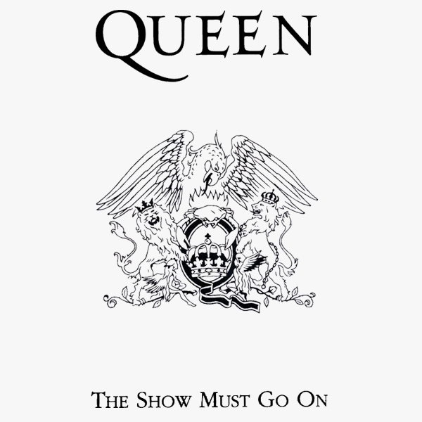Original Cover Artwork of Queen The Show Must Go On