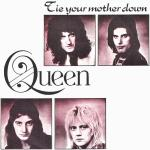 Original Cover Artwork of Queen Tie Your Mother Down
