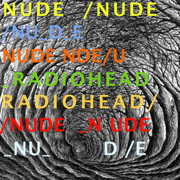 Original Cover Artwork of Radiohead Nude
