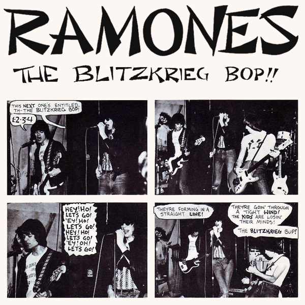 Cover artwork for The Blitzkreig Bop - Ramones