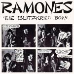 Original Cover Artwork of Ramones Blitzkreig Bop