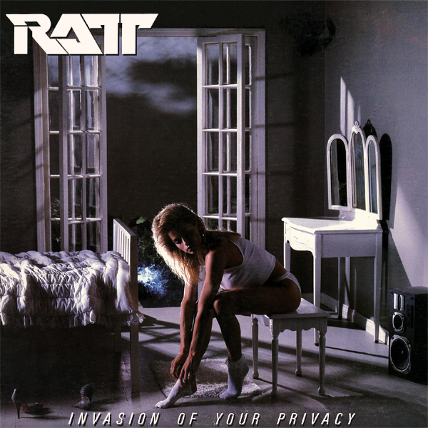 Cover artwork for Invasion Of Your Privacy - Ratt