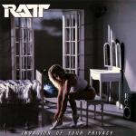 Original Cover Artwork of Ratt Invasion Of Your Privacy