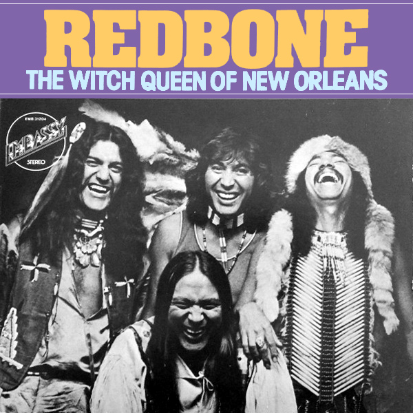 Original Cover Artwork of Redbone Witch Queen Of New Orleans