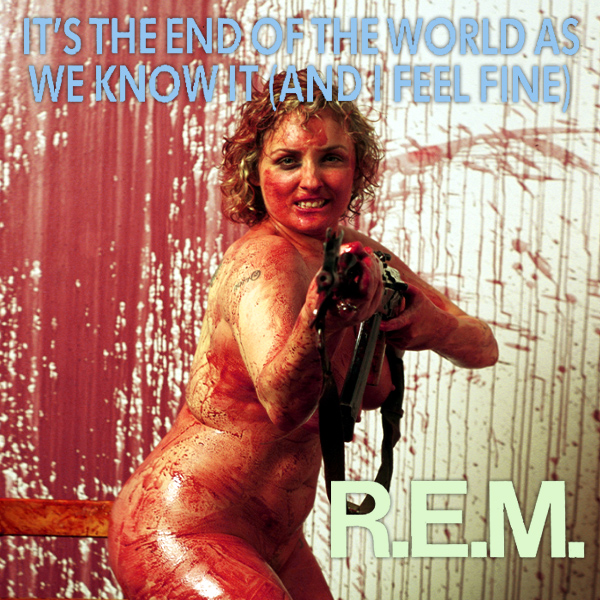 Cover Artwork Remix of Rem Its The End Of The World As We Know It