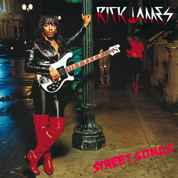 Original Cover Artwork of Rick James Street Songs