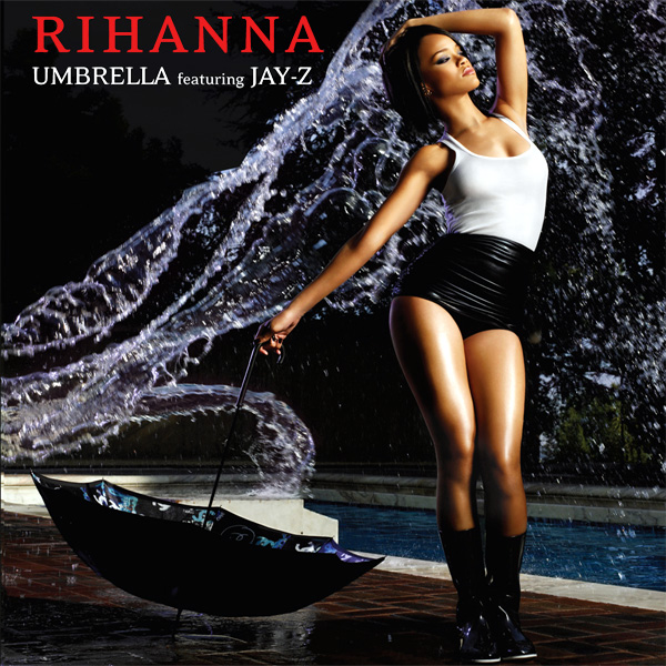 Original Cover Artwork of Rihanna Umberella