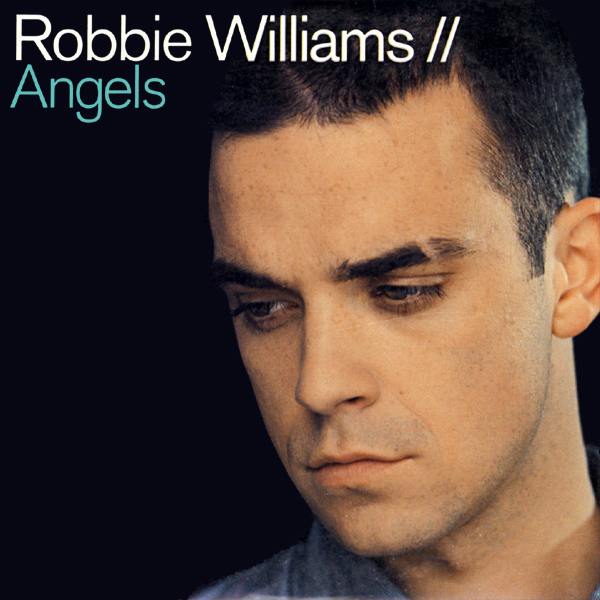 Original Cover Artwork of Robbie Williams Angels