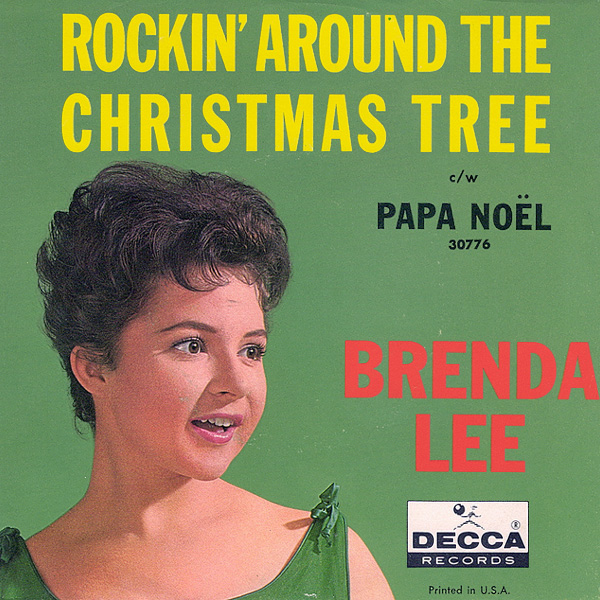 Original Cover Artwork of Rockin Round The Xmas Tree