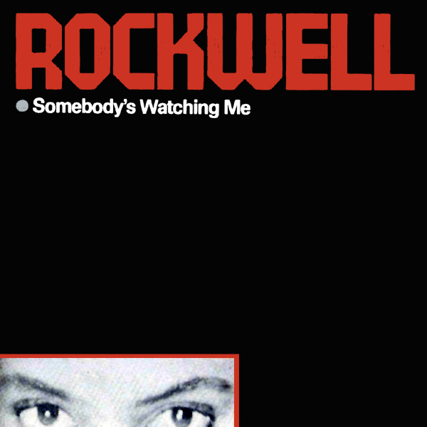 Original Cover Artwork of Rockwell Watching Me